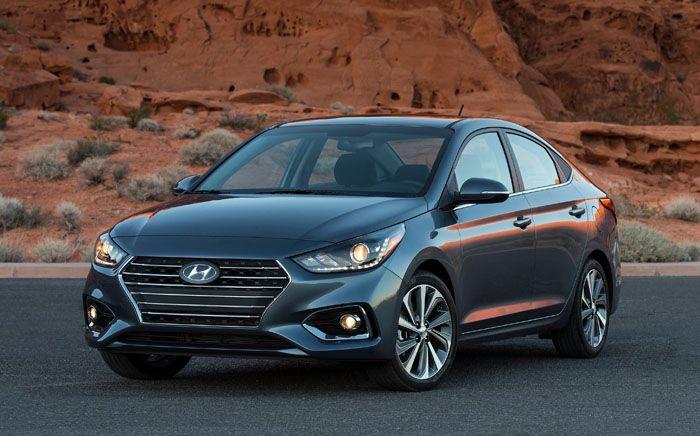 2020 Hyundai Accent Compact Sedan Hyundai Hyundai Accent