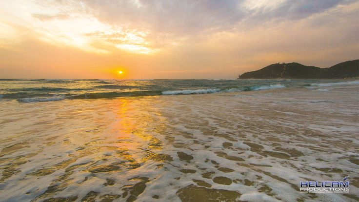 Sunrise at Ponta D'Ouro in Mozambique