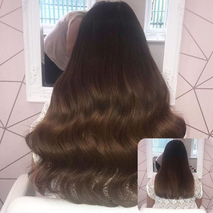 180g @swayhairextensions Wefts in shades R2/4/6 2…
