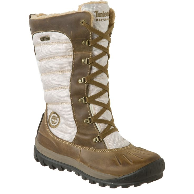 Timberland Mount Holly Tall Lace Duck Boot - Women's | Backcountry.com $144