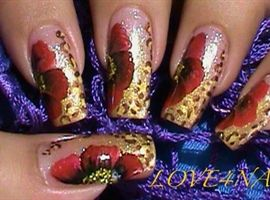 French Manicure Toe Nail Art Design by LOVE4NAILS