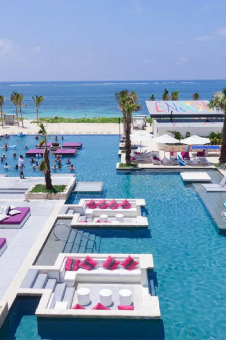 Looking for the best party spot in Mexico? Breathless Riviera Cancun Resort and Spa is the place to be!