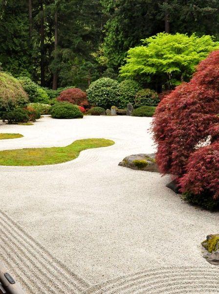Zen Gardens, Vertical Gardens, Japanese Gardens, Zen Rock, Asian Garden,  Garden Images, Flat Stone, Washington Park, Garden Landscaping