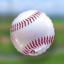 Baseball Themed Balloon Bouquet