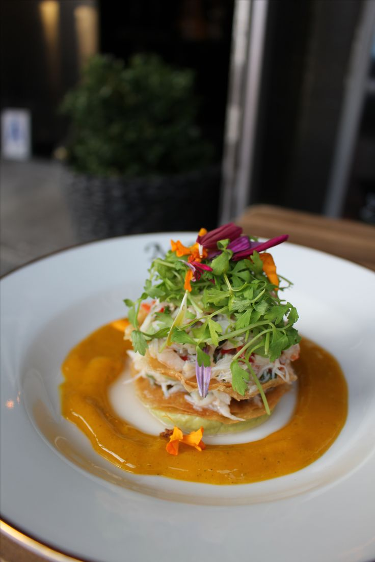 This Maine Crab Salad from Mountain Bird in Harlem is both refined and addicted. You're going to love the Mint Mango Dressing!