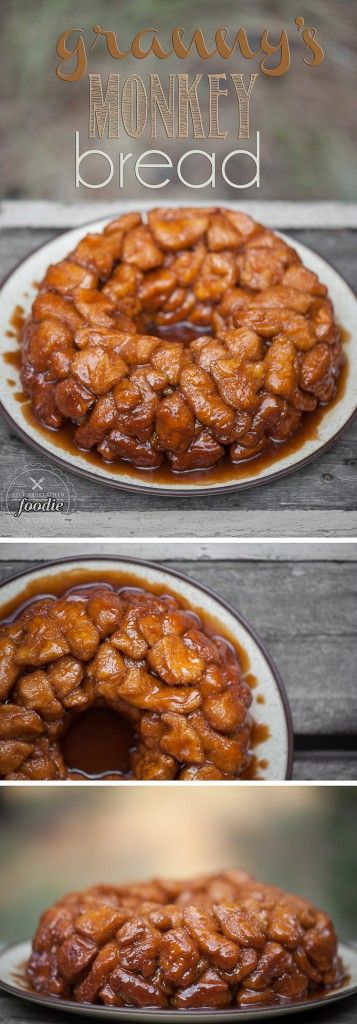 Granny's Monkey Bread is a sweet, gooey, sinful treat that will be loved by…
