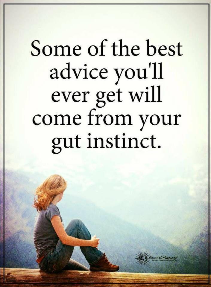 Gut instinct quotes