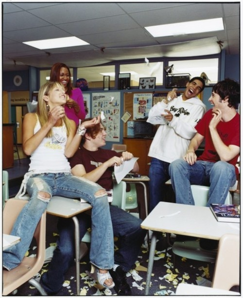 Degrassi: The next generation. One of the first seasons, with Emma, Craig and Jimmy