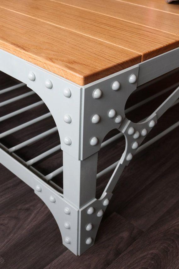Industrial mesa mesa estilo steampunk industrial Deluxe