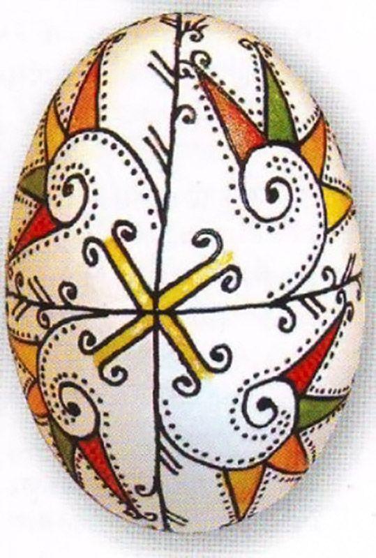 Български писани яйца