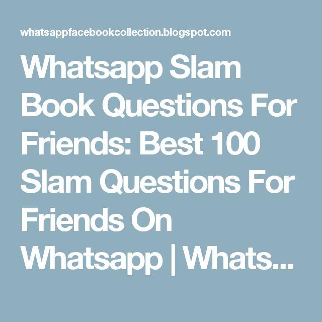 25+ Best Ideas About Slam Book On Pinterest