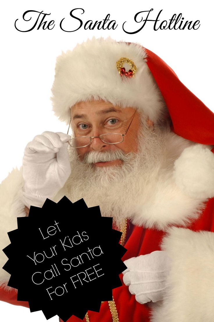 the santa hotline call or email santa claus for free