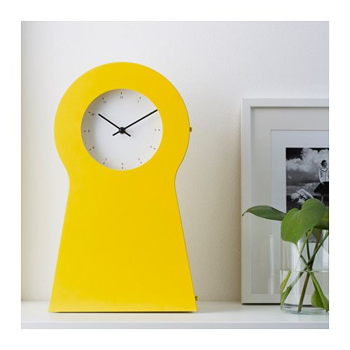 IKEA PS 1995 Clock The Is Also A Good Storage Place For Small Items