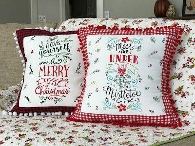Everyday Celebrations: Tutorial: Handmade Pillows Using a Flour Sack Towel