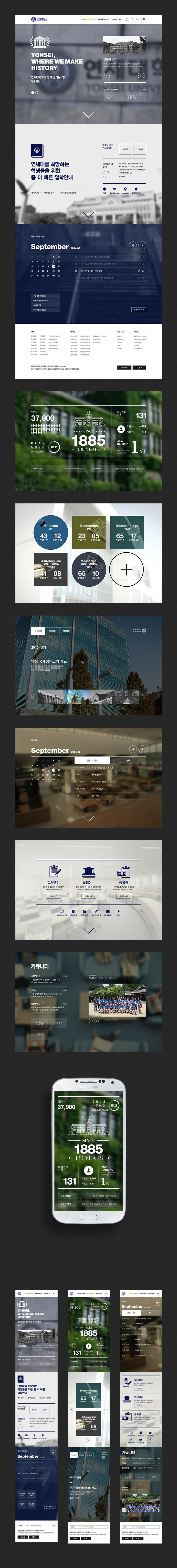 Yonsei University Web, Mobile renewal proposal