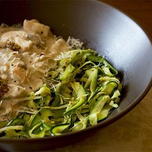 Creamy mushrooms and zucchini pasta http://www.food24.com/Recipes/Creamy-mushrooms-and-zucchini-pasta-20140606