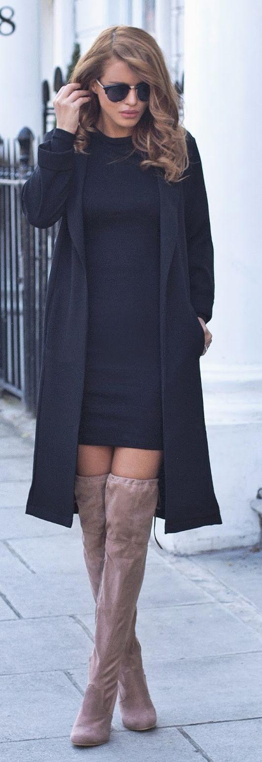 Longline Camel Boots Chic Style by Nada Adellè