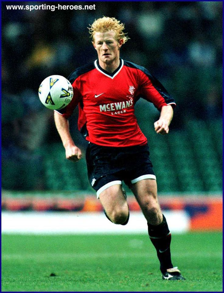 Colin Hendry @Glasgow Rangers