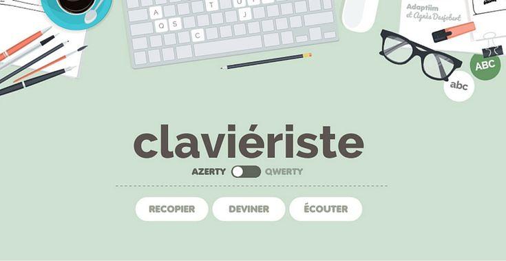 Clavieriste est une app d'orthophoniste pour travailler la lecture, l'orthographe, la maîtrise du clavier et la mémoire visuelle et auditive. Une app complète