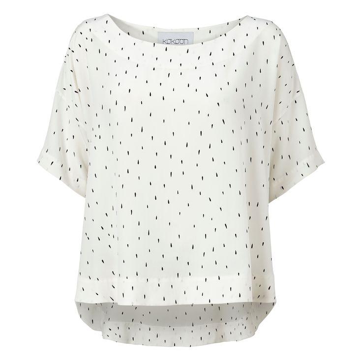 Mila blouse - drop print