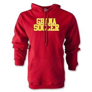 http://www.blackstarsquare.com/ Ghana Soccer Supporter Hoody (Red)