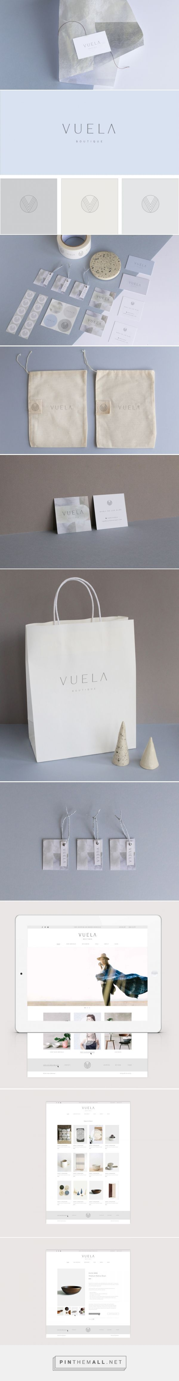 Vuela Boutique Branding by Kati Forner | Fivestar Branding – Design and Branding Agency & Inspiration Gallery