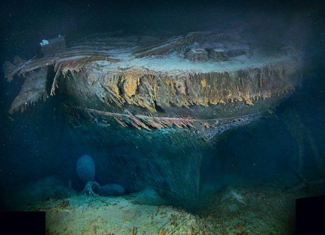 Nuevas Imágenes del titanic   by National Geographic