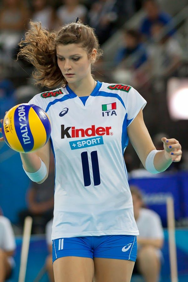 Outlet New Jersey >> Cristina Chirichella, italian volleyball player | health and sports | Pinterest | Baseball ...