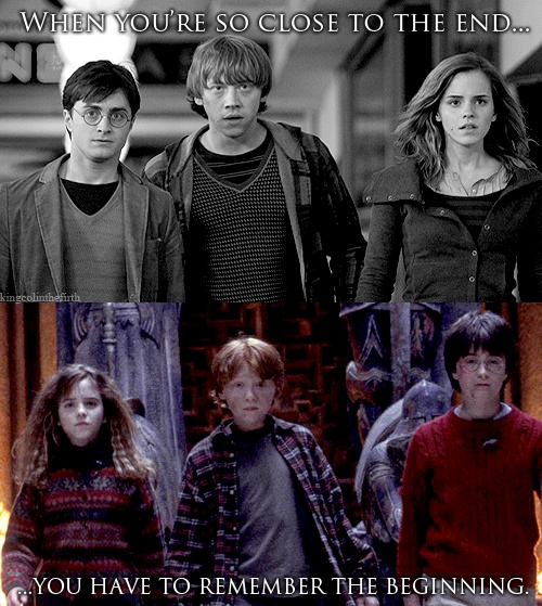 the harry potter series - book & movie .
