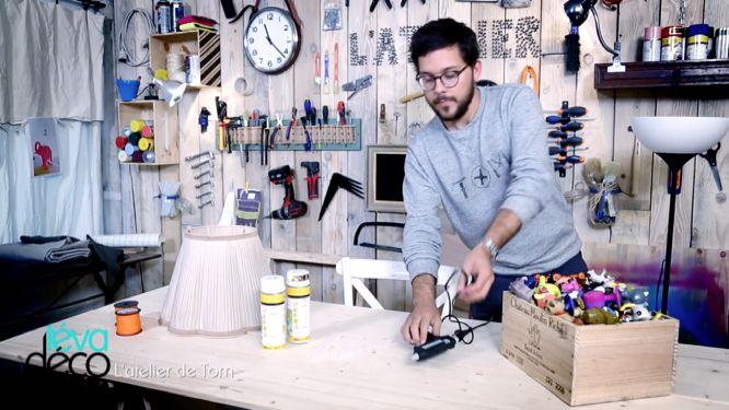 atelier DIY de tom teva déco materiel pour refaire le lampadaire