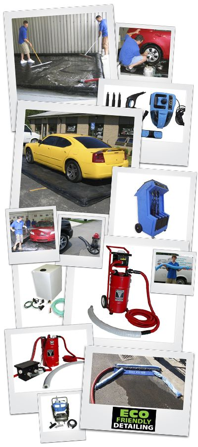 Take your auto detailing business on the road with commercial grade mobile auto detailing and car wash equipment from DetailKing.com.