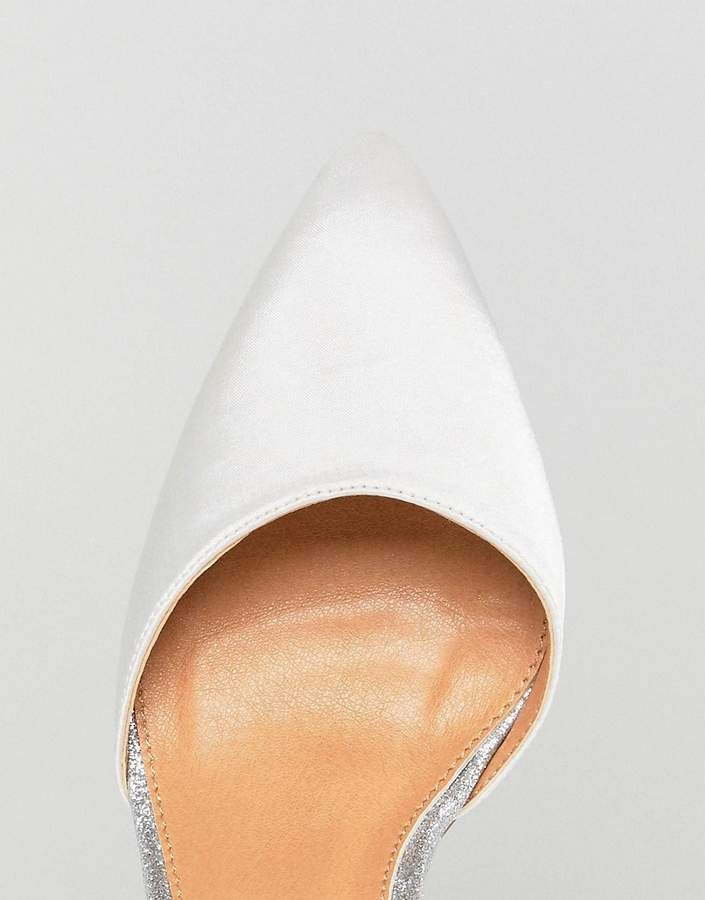 5b01eb26b68 Be Mine Bridal Lissy Ivory Satin Block Heeled Shoes  Ivory Lissy Bridal