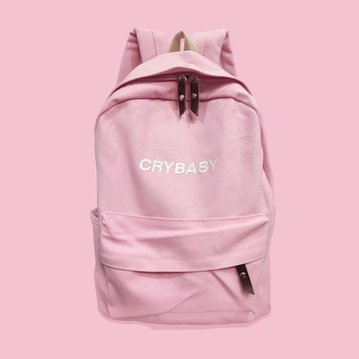 CRYBABY-Tumblr-Aesthetic backpack