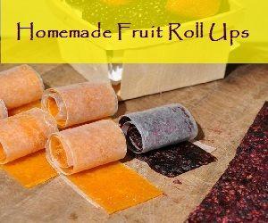 Homemade Fruit Roll Ups - Save Big, Live Better