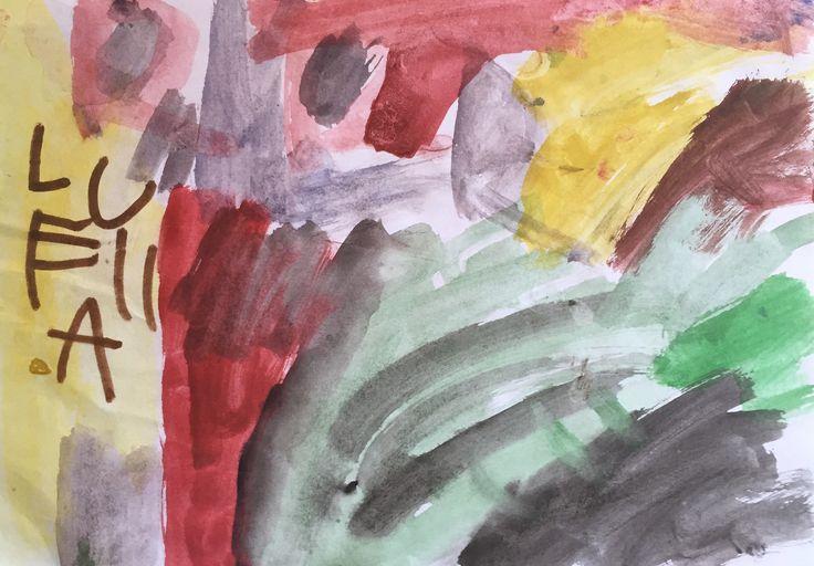 "Lulu Smith ""The Rainbow Unicorn"" Abinger Creche & Kindergarten  2011"