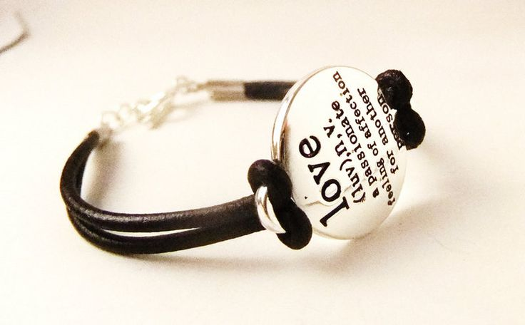Definition of Love Bracelet - Leather