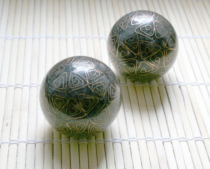 Baoding Balls/Chinese meditation balls: stress relief - I remember playing with these as a kid