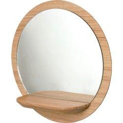 Miroir Mural avec tablette Sunrise petit modèle REINE MÈRE - Miroir