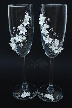 copas decoradas porcelana fria - Buscar con Google