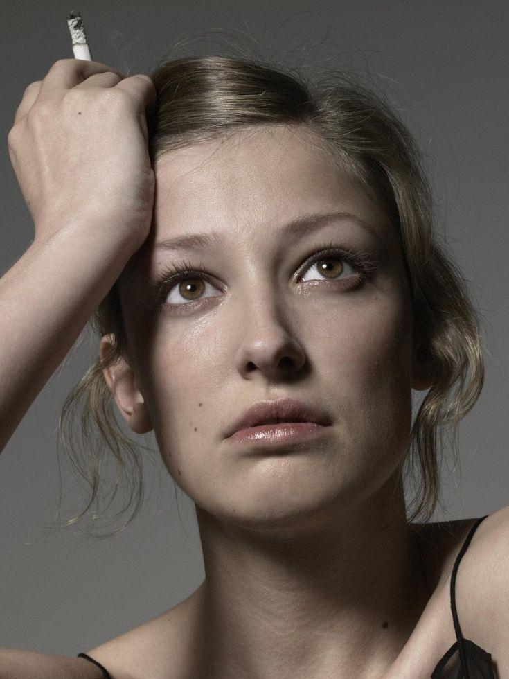 Romanian-German actress Alexandra Maria Lara, photographed by Michel Comte