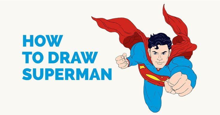 An easy to follow step-by-step tutorial to drawing Superman. Follow the simple instructions and in no time you've created a great looking Superman drawing.