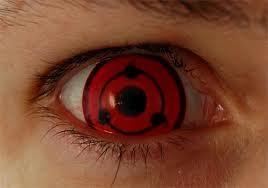 Madara Sharingan Eye Contact Lenses