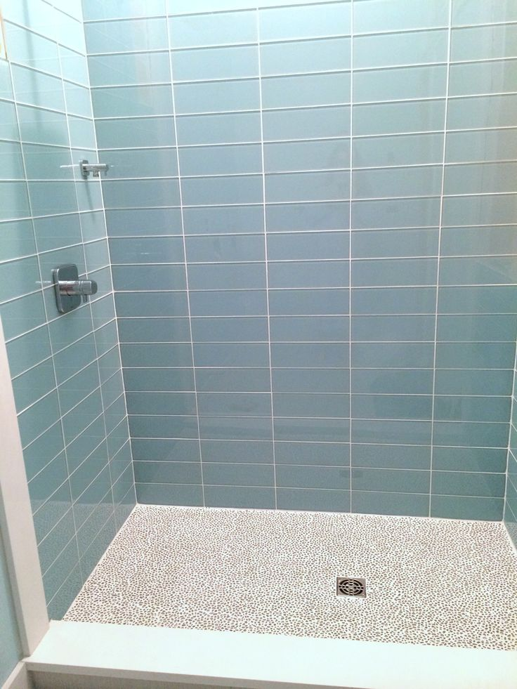 Pale Blue Glass Subway Tile In Vapor Modwalls Lush 4x12