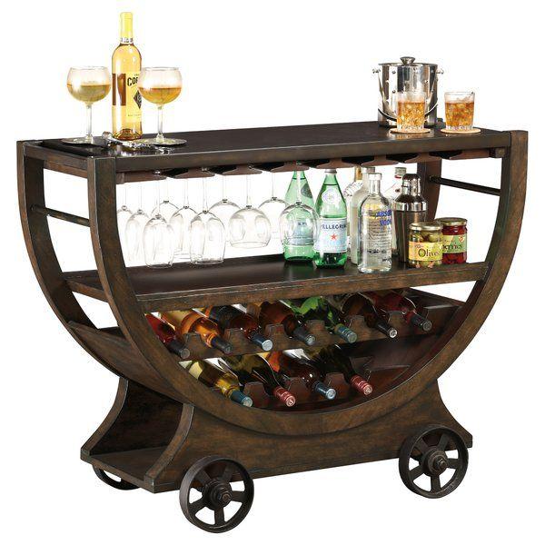 Lauryn Bar With Wine Storage Sideboard Bar Bar Console Wine