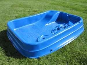 Baby pool with slide by H2O - $39