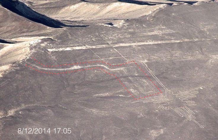 Greenpeace dañó las lineas de Nasca