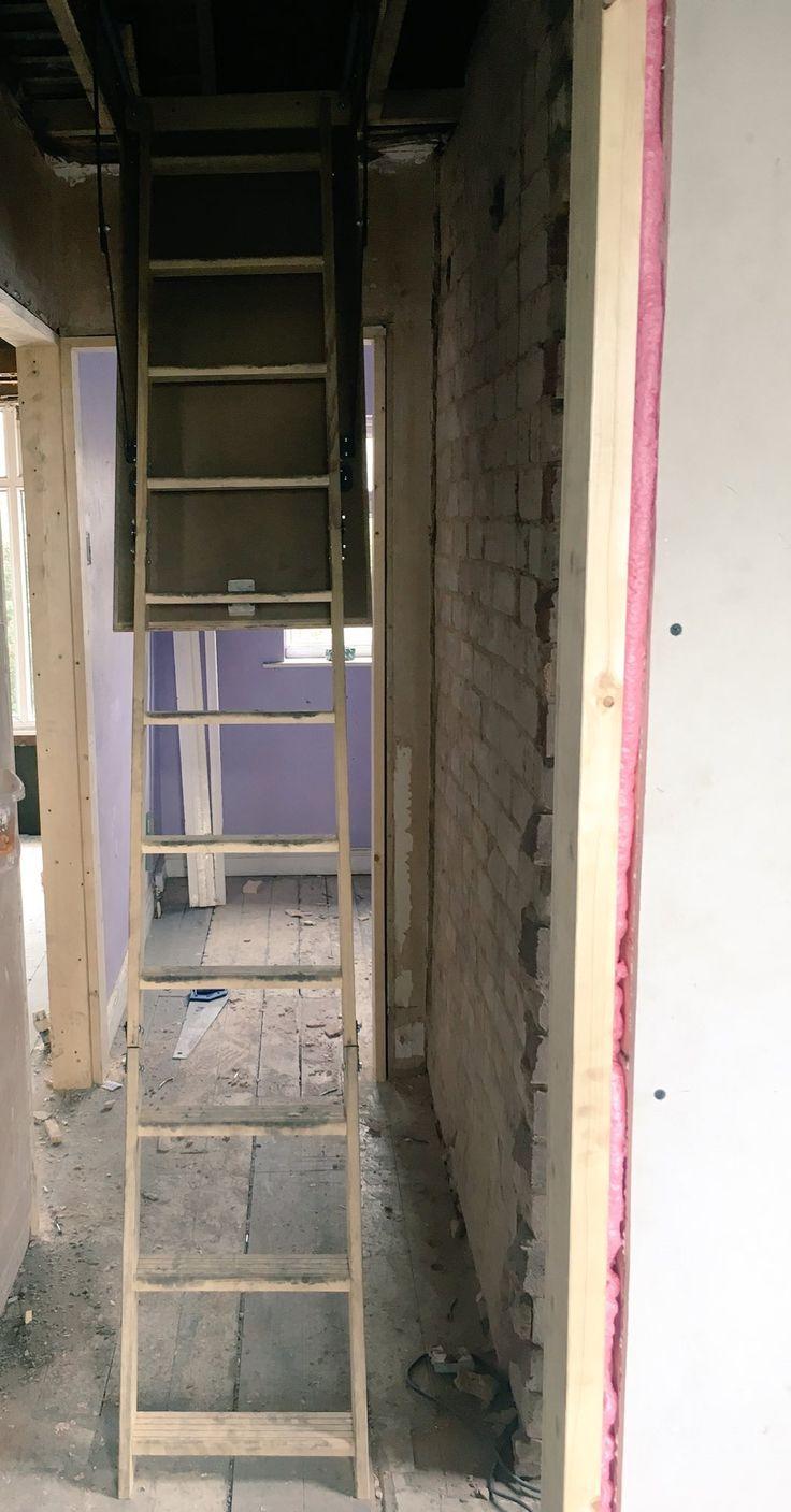 loft hatch u0026 ladder supplied u0026 installed by trt joinery