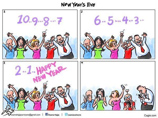 new years eve, Osama Hajjaj,Jordan,new,years,eve,2016,celebration,countdown,mobile