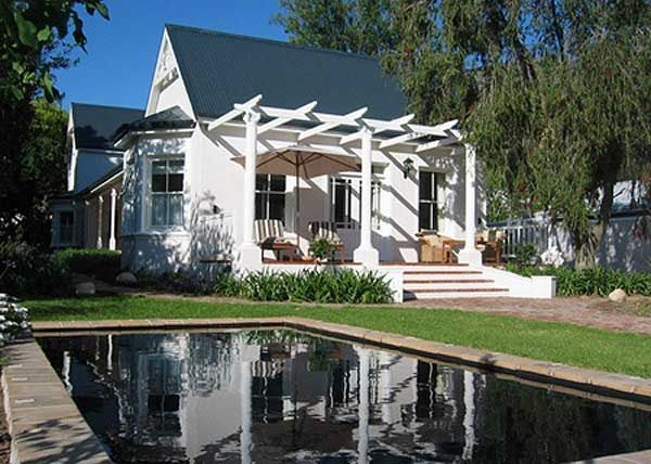 Cape Town Winelands Holiday Home - Franschhoek Property - Main View
