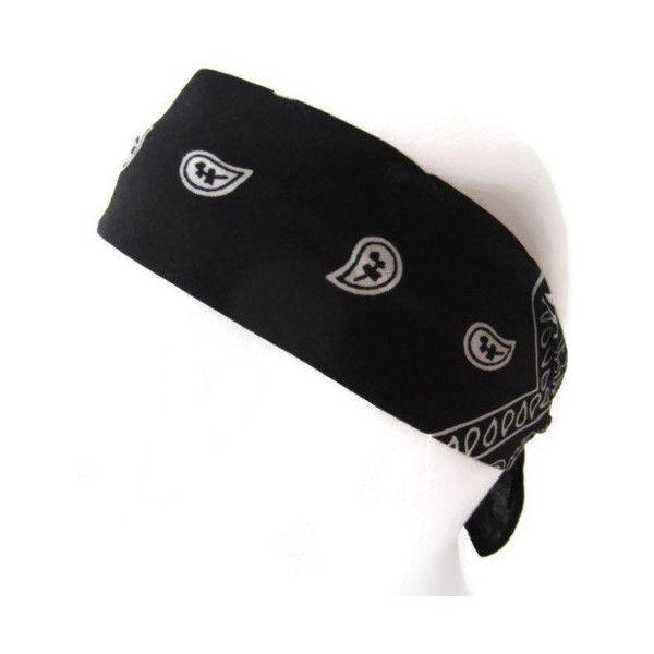 Bandana Headband, Bow Headband, Teen, Adult, Black ($6) ❤ liked on Polyvore featuring accessories, hair accessories, thin headbands, tie headbands, bow tie headband, bow hair accessories and tie bandana headband